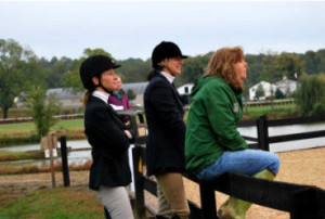 Bidawee Farm students Lauren Hammer, Carla Rollins and Donna Dugas all had a great time showing at Morningside